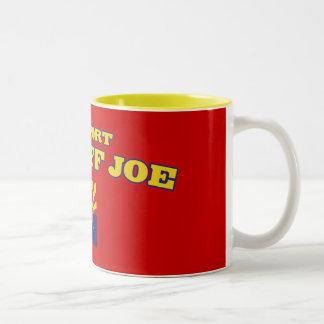 Support Sheriff Joe Two-Tone Coffee Mug