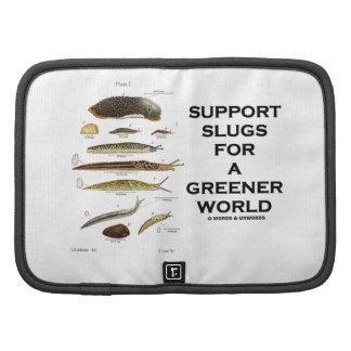 Support Slugs For A Greener World Folio Planner