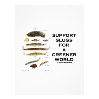 Support Slugs For A Greener World Letterhead
