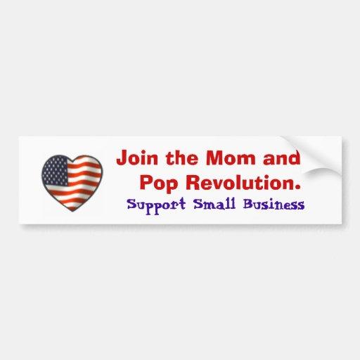 Support Small Business Car Bumper Sticker