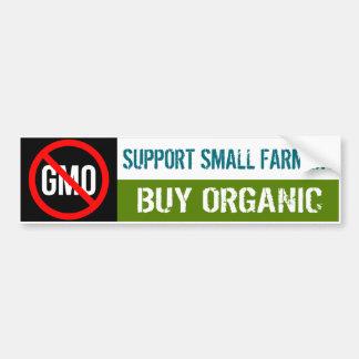 Support Small Farmers - Buy Organic bumper sticker Car Bumper Sticker