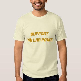 Support Solar Power T Shirt