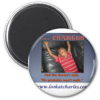 Support Special Needs 2 Inch Round Magnet