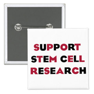 Support Stem Cell Research Pinback Button