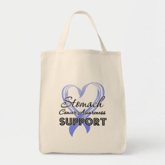 Support Stomach Cancer Awareness Canvas Bag