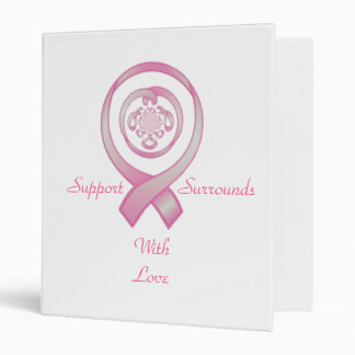 """Support Surrounds With Love"" 3 Ring Binder"