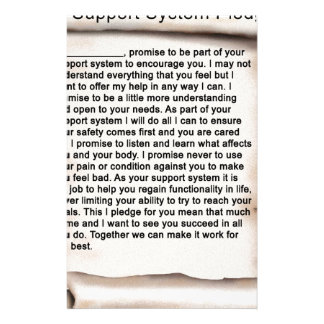 Support System Pledge 1b.jpg Stationery
