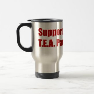 Support T.E.A. Parties mug