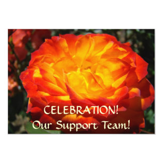 SUPPORT TEAM Celebration! Invitations Party Cards