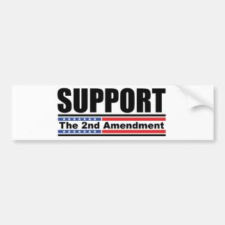 Support the 2nd Amendment Bumper Sticker Car Bumper Sticker
