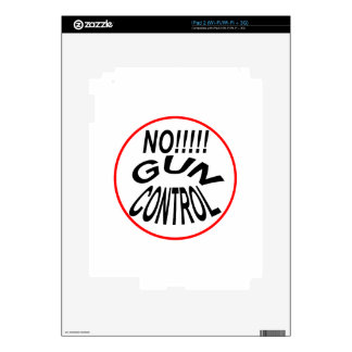 Support The 2nd Amendment! Decals For iPad 2
