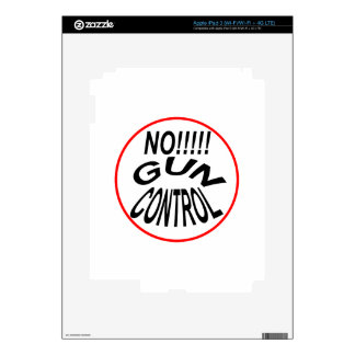 Support The 2nd Amendment! Decals For iPad 3