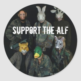 Support the ALF Classic Round Sticker