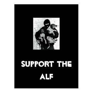 Support the ALF Post Card