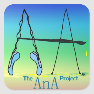 Support the AnA Project Square Sticker