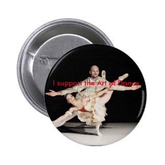 Support the Art line of JSLN Dance Company 2 Inch Round Button