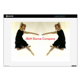 """Support the Art line of JSLN Dance Company Decals For 15"""" Laptops"""
