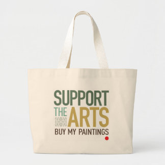 Support the Arts Paintings Bag