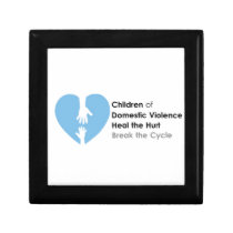 Support the Children of Domestic Violence Keepsake Box