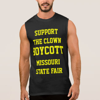 SUPPORT THE CLOWN SLEEVELESS SHIRT