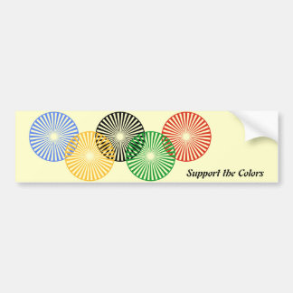 Support the Colors - Bumper Sticker