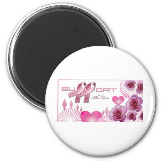 Support The cure, Breast Cancer Awareness Magnet