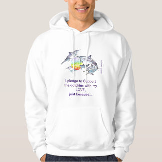 Support the Dolphins with Love! Hoodie