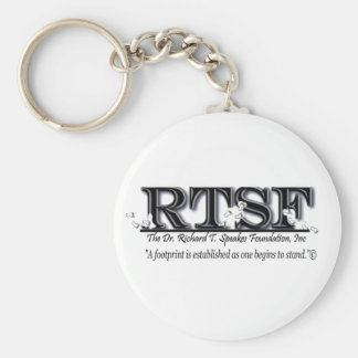 Support the Dr. Richard T. Speakes Foundation Basic Round Button Keychain