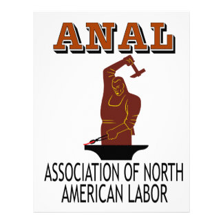 Support the Everyday Worker: ANAL Gear Letterhead