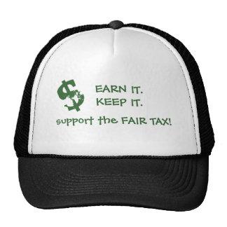support the FAIR TAX! Trucker Hat