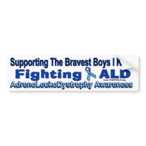 Support The FIGHT _ ALD AWARENESS Bumper Sticker