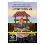 Support the Frac Act Cards