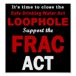 Support the FRAC Act - Poster