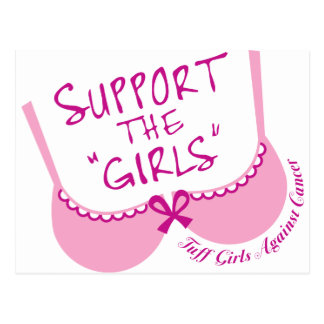 Support The Girls Postcard