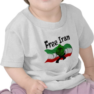 Support The Green Wave, Free Iran T Shirt