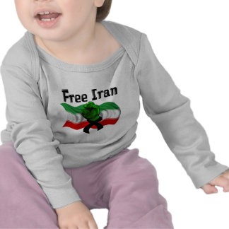 Support The Green Wave, Free Iran T Shirts