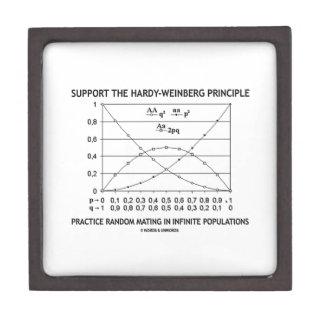 Support The Hardy-Weinberg Principle Practice Premium Jewelry Box