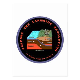 Support The Laramide Revolution Geological Humor Post Card