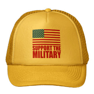 Support The Military Trucker Hat