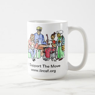 Support The Move and have a hot drink Coffee Mugs