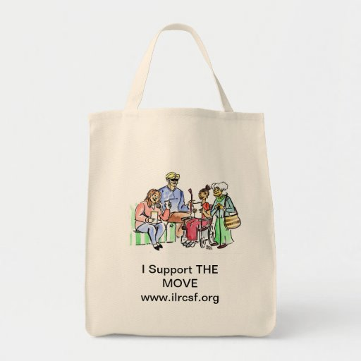 Support THE MOVE Canvas Bag