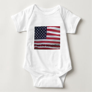 Support the occupation by showing it! baby bodysuit