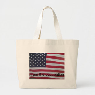 Support the occupation by showing it! tote bags