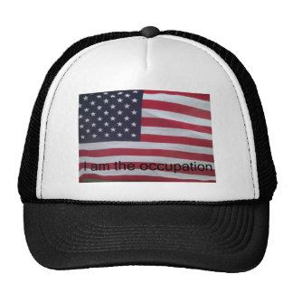Support the occupation by showing it! mesh hat