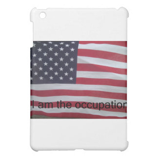Support the occupation by showing it! iPad mini cases