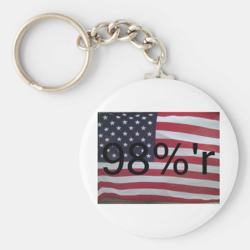Support the occupation by showing it! key chain