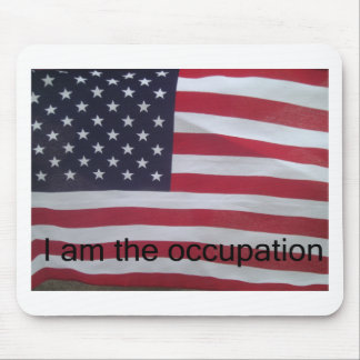 Support the occupation by showing it! mouse pads