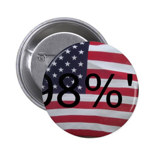 Support the occupation by showing it! pinback button