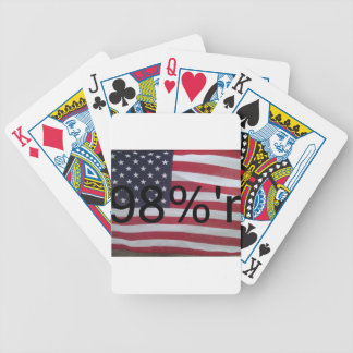 Support the occupation by showing it! card decks