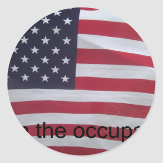 Support the occupation by showing it! sticker